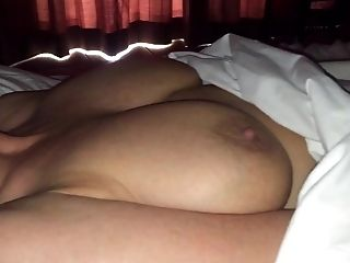 SHE playing under the sheets