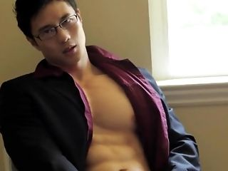 Hot Korean office guy