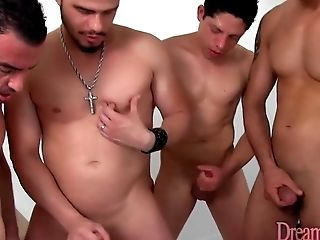 All Holes, Bareback, Creampie, Fantasy, Gangbang, Guy Fucks Shemale, HD, Shemale, Tranny,