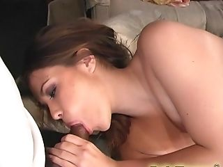 Katie Thomas wants to feel a couple of black cocks in her holes