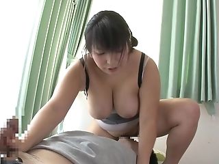 Yukira with nice ass giving monster cock superb blowjob