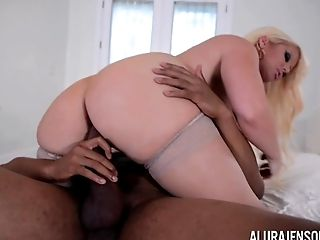 Big Boob Alura Jenson Makes Booty Call to Jonvan Jordan