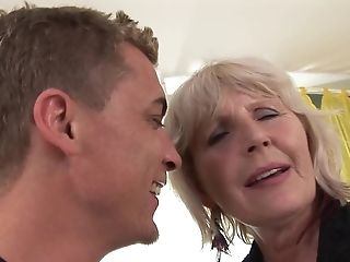 Blonde honey gets skull pounded by horny fellow
