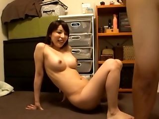 Sakurai Ayu gets naked for a hot shag with her partner