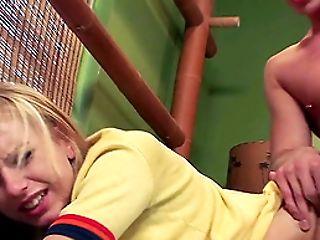 Lexi Belle in bed with a man that bangs her wet pussy hardcore