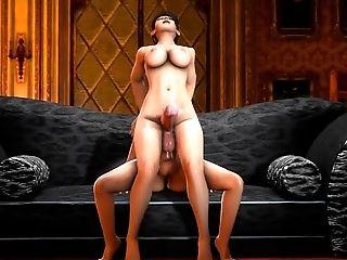 Momiji 3D futanari sex (DOA)