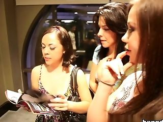 Kristina Rose, Giola Biel, Danica Dillon in The Magic Stick Kristina Rose