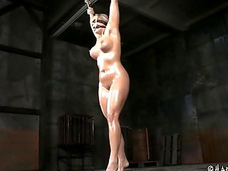 BDSM, Blonde, Bondage, Dungeon, Fetish, Gagging, Sex Toys, Torture,