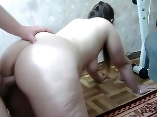 PAWG chubby girl doggystyle ...