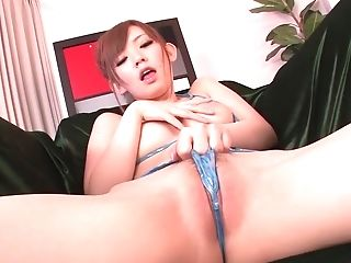 Exotic Japanese girl Megu Kamijo in Horny JAV uncensored Dildos/Toys clip