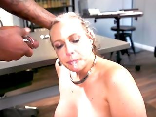 BDSM and a slave role is amazing experience with Angel Allwood
