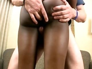 Femboy beauty in bra gets messy facial cumshot and cums too
