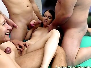 All Holes, Amateur, Anal Sex, Boobless, Deepthroat, European, Extreme, Flexible, Gangbang, German,