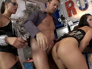 Rocco Siffredi takes his chance to fuck lewd dirty whore Mea Melone