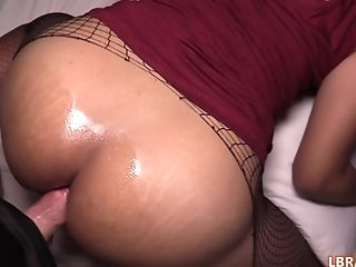 Asian Shemale Nim give guy a blowjob and get her sexy tight ass fucked bareback