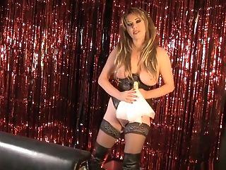 Hottest pornstar Christina Carter in fabulous dildos/toys, solo porn scene