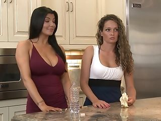 Prinzzess and Romi Rain are hot chicks who love to fuck