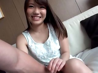 Hot amateur babe from Japan and the unforgettable doggy adventure