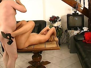 Horny matured doll bending over while being pounded doggystyle