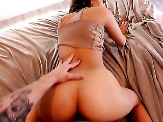 Amina Allure fucking like a first rate whore in hardcore sex action with horny guy