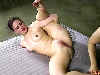 Caned ass of a sub girl turns red from the pain