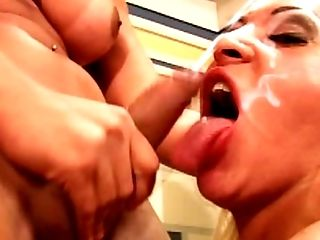 All Holes, Bareback, Big Tits, Blonde, Blowjob, Cum, Gangbang, HD, Shemale, Shemale Fucks Shemale,