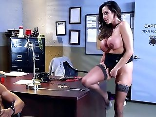 Extreme interracial fucking a work with Ariella Ferrera