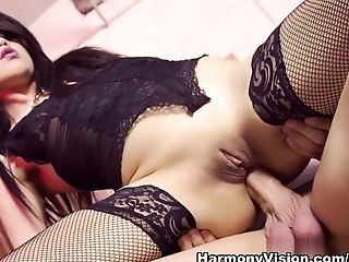 Best pornstar in Crazy Asian, Stockings porn clip